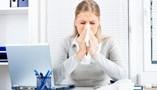 munka otthon amikor beteg vagy